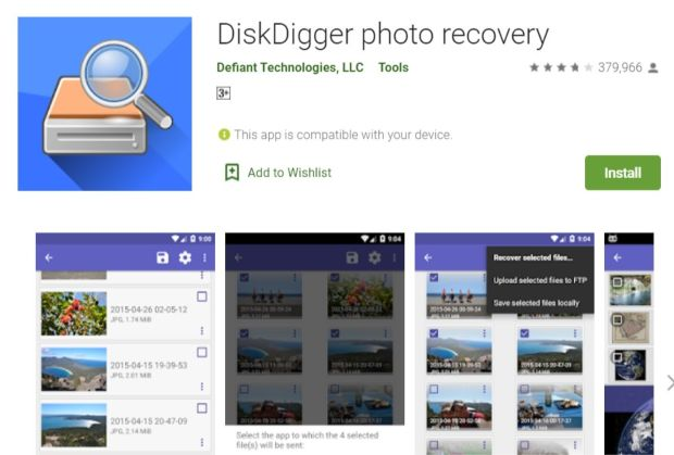 Diskdigger Photo Recovery Download