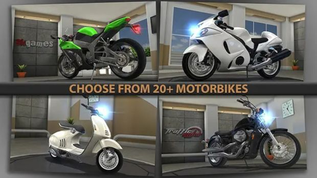traffic rider hack apk download