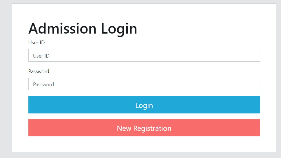 dhcollege.ac.in admission Login
